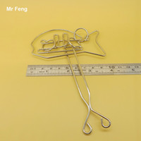 Wholesale Metal Fish Toy Traditional Intellectual Knot Buckle Puzzle Untie Ring Brain Tester