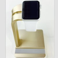 new arrival phone - New Arrival in Aluminum Alloy Stand Holder For Apple Watch i Watch for Iphone Samsung HTC LG Mobile Phone in Stock