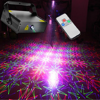 Wholesale NEW RGB W DMX512 Laser Stage Lighting Scanner D effect light projector DJ Disco Party Xmas Lights Show Digital DMX
