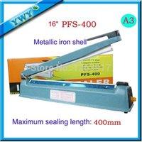 Wholesale New quot mm Hand Manual Impulse Sealer Heat Seal Machine Poly PVC Plastic Shrink Vacuum Bag Film lips Sealing
