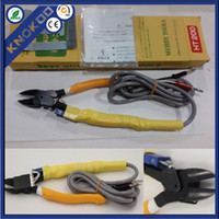 Wholesale MERRY TOOLS HT heat nipper For Cutting Plastics Electric heating cutting Pliers Tool New