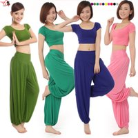 Wholesale fashion Plus size yoga sets clothes casual belly dance clothes modal fitness clothing aerobics clothing female