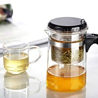 Wholesale Hot Selling Drinkware ml Teapot Glass Tea Pot High Quality
