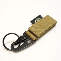 Multisport webbing belt - Men Nylon Webbing Buckle Hanging High Strength Press Lock MOLLE System Fashion Mountaineer Buckle Belt Buckle