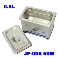 Wholesale Supply V V L Professional Digital Mini Household Ultrasonic Cleaner Machine for Glass Jewelys Watch Timer Nealy JP