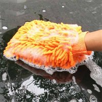 Wholesale New Super Mitt Microfiber Chenille Car Wash Washing Cleaning Gloves Car Washer Car Accessories DP872406