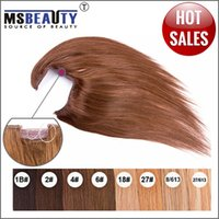 Wholesale 2015Fashion Flip in Hair extensions Halo Hair products Human Hair b Mix colors Length inch