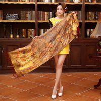 Wholesale Top quality silk scarf duble layers brushed cashmere women silk pashmina tassel long No NO