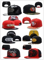 49ers - SF ers Hat NO Money NO Quality On Field ers Snapback Hats Gear Sideline Adjustable Fitted Caps