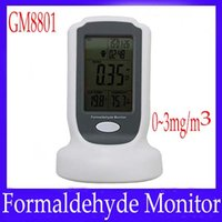 Wholesale Digital formaldehyde meter GM8801 HCHO tester formaldehyde detector measure range mg m3