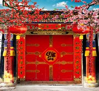 Wholesale 5X7ft Chinese Full Families Camera Photos Vinyl Backdrops Digital Cloth Backgrouds Computer Printed Photography Studio Background Backdrop