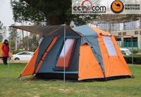 Wholesale Freedom party boat camel outdoor camping tent person multiplayer anti rainstorm family bunk tent camping