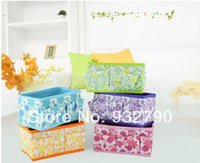 Wholesale New Multifunction Women Girls Beauty Flower Folding Makeup Cosmetic Storage Box Case Organizer Container Bag Case Fashion order lt no track