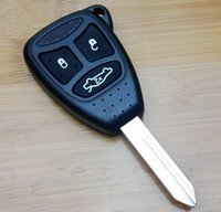 Wholesale Remote Key Case Shell for Chrysler for Jeep Cherokee Button with Big PAD Rubber buttons