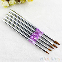 Wholesale UV Gel Acrylic Nail Art Brush Painting Pen Nail Tips Manicure Tool MY6