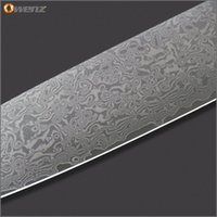 Wholesale OWENZ damascus pattern quot slicing quot santoku quot santoku quot quot utility quot paring knife AUS