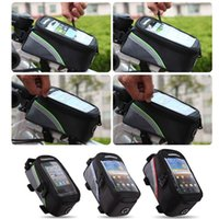 Cheap New arrival 3 Colors Outdoor Cycling Sport Bike Bicycle bag,Frame Front Tube Bag for Cell Phone PVC Free shipping order<$18no track