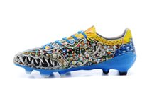 Wholesale 2015 New Soccer Shoes Limited Edition F50 FG Yamamoto Football Shoes Messi Blackout Football Boots Yuanyang Dragon God Beast