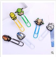 Wholesale Clips star wars Darth Vader Death CM Bookmark School Stationery Office Supply Paper Clips Binder Clips Stormtrooper Dolls Memo clips