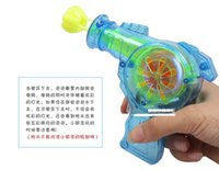 toy bubble gun - Shining bubble gun new Outdoor toys kids bubble gun soap bubble blower child toy baby gift water gun