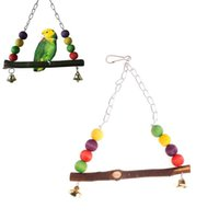 Wholesale Hot Sale Parrot Swing Toy Colorful Bird Cage For Parakeet Cockatiel