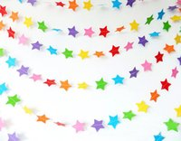 Wholesale 1 M Styles Paper Garland Festive amp Party Supplies Handmade Paper Colorful Garland for Wedding Party Decoration
