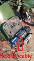 atv winch - V LB Dyneema flexible rope electric winch X4 UTV ATV WINCH
