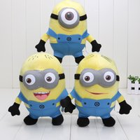 Anime & Comics anime plush toy girl - The newest Doll Minions Dave Jorge Stewart Plush Toy Despicable Me Minion Plush toys D eyes
