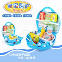 Wholesale Fashionable Doctor Toys Set For Children Pretend Play Sets Multifunctional Play House Games Nurse Gifts Doctor s Kit