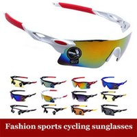 Wholesale Men Women UV400 Cycling Glasses Outdoor Sport Mountain Bike MTB Bicycle Glasses Motorcycle Sunglasses Eyewear Oculos Ciclismo