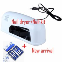 Wholesale w phototherapy machine nail phototherapy machine UV lamp Ultraviolet uv light roast lamp nail dryer Nail kit