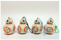 animal cloning - Star Wars The Force Awakens BB8 BB R2D2 Droid Robot Figure Keychain Stormtrooper Clone Trooper Strap New year Gift