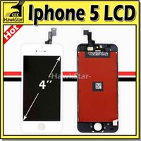 Cheap Iphone 5 LCD Iphone 5S LCD Iphone 5C LCD Display Touch Screen Digitizer With Frame Full Assembly Replacement For Iphone 5 5S 5C Free DHL