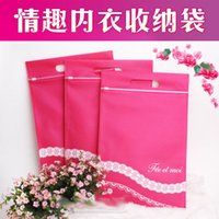 Wholesale Tiaodan upscale lingerie pouch storage bag can hold an essential collection for men and women masturbating couple flirting