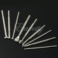 Wholesale New Durable Metal Leather Working Saddle Making Tools Carving Leather Craft Stamps Set