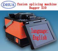 automatic bagger - AB105 FTTH BAGGER X10 multilanguage Automatic Intelligent Fusion Splicing Optical Fiber Fusion Splicer machine