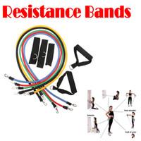 Wholesale by dhl or ems pieces high quality resistance band Exercise Tubes Practical Elastic Training Rop