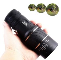Wholesale Zoom Dual Focus Optics Lens x52 Camping Hunting Hiking Monocular Telescope