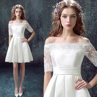 Cheap 2015 new bride wedding toast white long-sleeved wedding dress Short wedding dress cheongsam 322