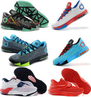 Wholesale Kevin Durant Kd Kd VI Mens Basketball Shoes Kd7 Shoes With Tick