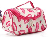 attractive women - Cosmetic Case Bag Appropriate Capacity Portable Women Makeup Cosmetic Bags Storage Travel Bags Make It Fashionable And Attractive