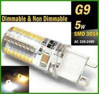 halogen bulb - G9 LED W Dimmable Non Dimmable Bulb V V V G9 E14 Base Candle Mini Corn Droplight Replace W Halogen Lamp W SMD led