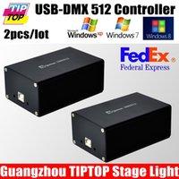 auto vista - Freeshipping USB DMX controller PC Controller Stage Light Controller for Win XP Win Win Vista System