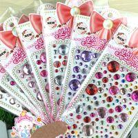 adhesive embellishments - China scrapbook supplies crafts accessories scrapbooking embellishments self adhesive gemstones acrylic sticker round crystals