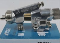 auto paint enamel - Auto spray gun WA Enamel automatic gun paint spray gun MM nozzle air brush sprayer paint painting tools