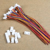 Wholesale Free drop shipping RC Lipo battery balance charger plug s v x10 cable JST XH2 XH MM pin HM S