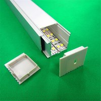aluminum linear slides - Slide Aluminum LED profile linear LED Profile for LED Bar Light with PMMA Cover Diffuser QF AL019