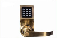 apartment lot - 1pcs Electronic RFID Mechanical KEY Outdoor Digital Keypad Door Lock for Office Residential hotel Apartment
