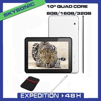 Wholesale Tablet pc Quad core inch android quad core tablet pc with GB GB GB Bluetooth HD Dual Camera