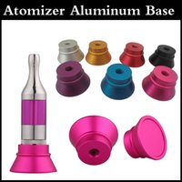 Wholesale Clearomizer Display Base Atomizer Stand Aluminum Holder for Thread Clearomizers yocan F exgo w3 aerotank mega mutation rda RBA tank